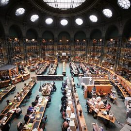 Visiting the Parisian archives: The Bibliothèque nationale de France and Archives nationales de France