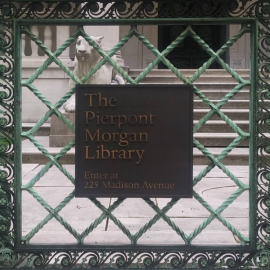 The Morgan Library and Museum and the New York Public Library